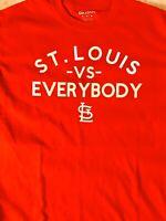 St. Louis Cardinals-T-Shirt-VS