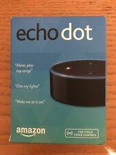 Amazon Echo Dot 2nd Generation - Black with Alexa BRAND NEW FACTORY SEALED