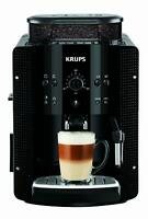 Krups EA8108 CAFETERAS, 1450 W, 1 Cups, Acero Inoxidable, Negro + F0540010  Kit