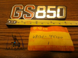 NOS Suzuki Emblem GS850G OEM# 68131-45100 fits 1979 GS850G
