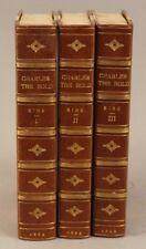 History of Charles the Bold, Duke of Burgundy by John F. Kirk 3 vol. 1863 1st Ed