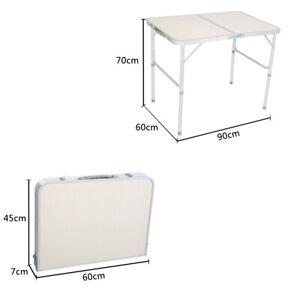 Aluminium Campingtisch Klapptisch Falttisch Gartentisch klappbar höhenverstellba