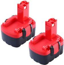 2X Batterie de Remplacement 3.0Ah pour Bosch 14.4V Ni-MH 13614 13614-2G 15614 16