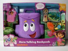 Dora The Explorer Talking Backpack Nos