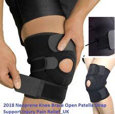 2018 Neoprene Knee Brace Open Patella Strap Support Injury Pain Relief_UK FAST