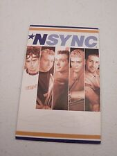 N'Sync Nsync Timberlake Bass Fatone Backstage Concert Pass
