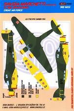 KORA Decals 1/48 SAVOIA MARCHETTI SM-79K SPARVIERO Croatian Air Force