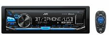 JVC KD-X341BT Receiver with Bluetooth & Front USB/AUX Input (Does Not Play CD)