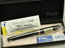 Pilot (NAMIKI) Japanese FP Custom 74 Black with converter / 14K / SM nib New!