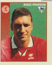 N°314 NIGEL PEARSON MIDDLESBROUGH STICKER MERLIN PREMIER LEAGUE 1997