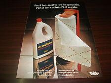 Pubblicità advertising settembre 1973. Cera per pavimenti EMULSIO SUTTER