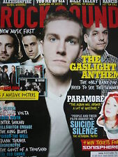 ROCK SOUND 124 - GASLIGHT ANTHEM - YOU ME AT SIX - SUICIDE SILENCE