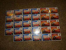 LOT (29) Sets Disney's CARS Christmas Holiday Cards Greeting Lightning McQueen