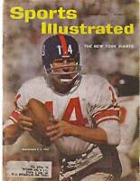 1961 Sports Illustrated Nov 20-Y A Tittle; Green Bay