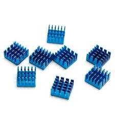 20pcs 14mm 14x14mx4mm Adhesive Back Heatsink Cooler For RAM Memory Chipset VGA