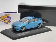"Minichamps 410026202 # BMW M2 Competition Baujahr 2019 in "" blaumetallic "" 1:43"
