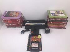 Atari 2600 Vintage Retro Gaming Console In Original Box W/ 16 Games PAL