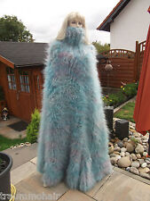 Sogno Mohair Pob huge LONGHAIR Mohair Cappotto Poncho SWEATER Mantello COAT NECK NUOVO