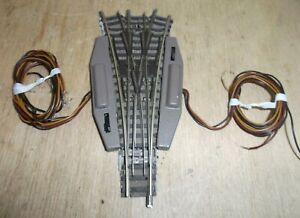 Fleischmann N Piccolo 9157 9158 Three - Paths Points Elektromagnetisch Tested