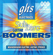 GHS CR-GBCL Sub-Zero Boomers electric guitar strings, Custom Light .009-.046