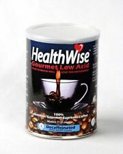 HealthWise 100% Colombian Supremo, Low Acid Swiss Water Decaf -- Case of 12