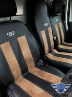 RENAULT MASTER 2010 - 2021 ARTIFICIAL LEATHER & ALICANTE TAILORED SEAT COVERS