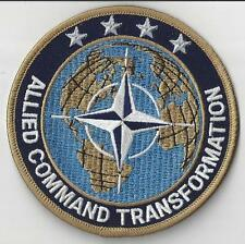 JACKET PATCH - NATO ALLIED COMMAND TRANSFORMATION