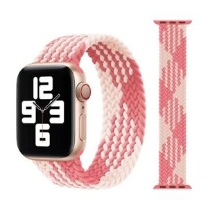 Braided Solo Loop series Apple 6 5 4 3 strap For watch band Nylon Elastic iWatch