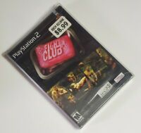 Fight Club (Sony PlayStation 2, 2004) New and Sealed