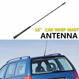 """Suit Mazda 2 3 5 6 CX-5 CX-7 Antenna Whip Mast Aerial Upgrade Booster 16"""" Longer"""