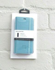 MOLESKINE iPhone X BookType Case Turquoise