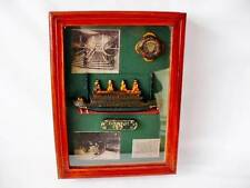"Wood Wall Mounted Key Holder Box ""Titanic Theme"""