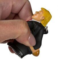 Donald Trump Pop Fart Key Ring Squeeze President Stress Releif Pop Out Poo Gel