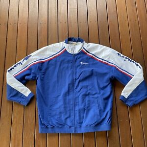 Champion Size XL Jacket Large Sleeve Spell Out Logo Casual Mens