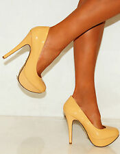 """Women's Slim Very High Heel (greater than 4.5"""") 100% Leather Shoes"""