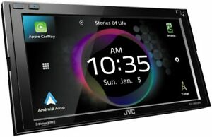 "JVC KW-M865BW Double DIN 6.8"" CD/DVD In-Dash Digital Media Receiver"