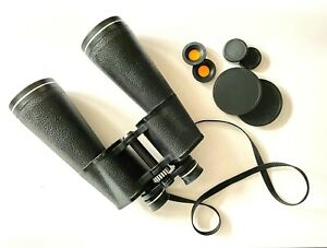 Vintage Binocular TENTO 6nu 20x60 (made in USSR) + Carry Case and yellow filters