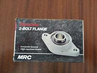 """MRC Bearing C2F104ZMRG Flange Unit, 1-1/4"""""""