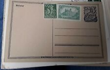 DR pre stamped postcard posted 30.01.1938 from Berlin to Essen