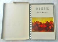 1961 Dixie Date Book with Flags Returned in 1905 w/ Original Box