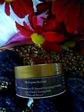 LUXURY HANDMADE 100%NATURAL SOAP-FREE FACIAL DETOX CLEANSING BALM, CHARCOAL