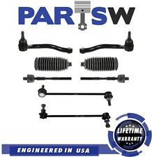 8 Pc Kit for Nissan Altima 2007-2013 Inner & Outer Tie Rod Ends Sway Bar End