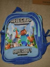 Minecraft Backpack - BLUE