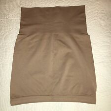 NWOT YUMMIE Firm Shapewear Half Slip Skirt - Tan - size L/XL -w/ Non-slide edge.