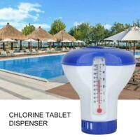 Swimming Pool Spa Floating Chlorine Dispenser Applicator Chemical Floater Tablet