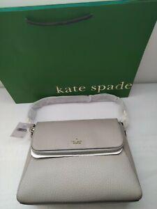 Kate Spade Carter Medium Shoulder Bag in Soft Taupe RRP £350.00