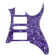 Purple Pearl Electric Guitar Pickguard HSH 4 Ply for Ibanez RG250 Replacement