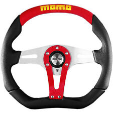 MOMO TREK STEERING WHEEL: 350mm (RED) TRK35BK0R