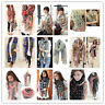 Women Fashion Pretty Long Soft Chiffon Scarf Wrap Shawl Stole Scarves Lots Style