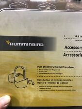 Humminbird 710245-1 - XP 9 28 T PUCK SHOOT THRU HULL TRANSDUCER- FIBERGLASS HULL